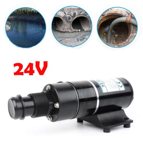 24 Volt Sewerage Pump Waste Water Macerator Pump for Marine Boat Yacht Sewage UK