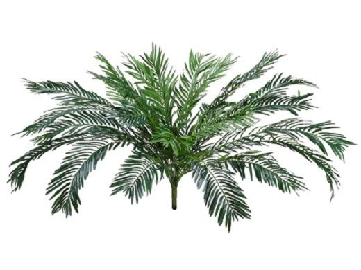 TWO 37  Cycas Palm Artificial Tree Silk Plants Bush Decor 9507