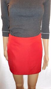 DABLJU-by-Jiniy-Size-Small-Red-Hot-Mini-Skirt-Fully-Lined-amp-Side-Zipper-Closure