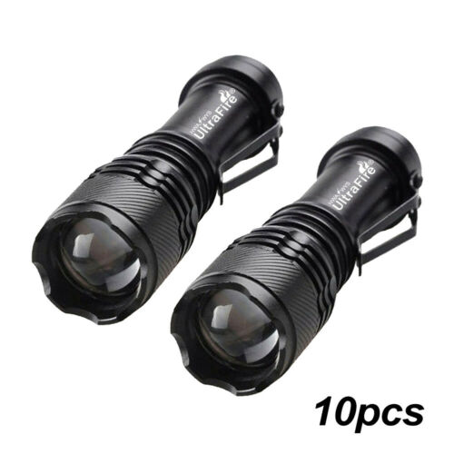 Waterproof Zoomable LED Flashlight Outdoor Mini Torch Hiking Camping New TS