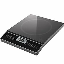 Chef's Star 1800W Portable Induction Cooktop Countertop Burner (Black)