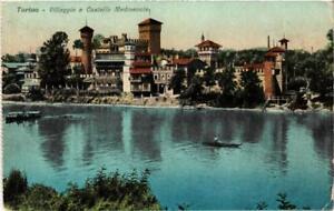 CPA-Torino-Villaggio-e-Castello-Medioevale-ITALY-542208