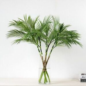 Image Is Loading Plastic Palm Artificial Tree Indoor Decoration Spa Home