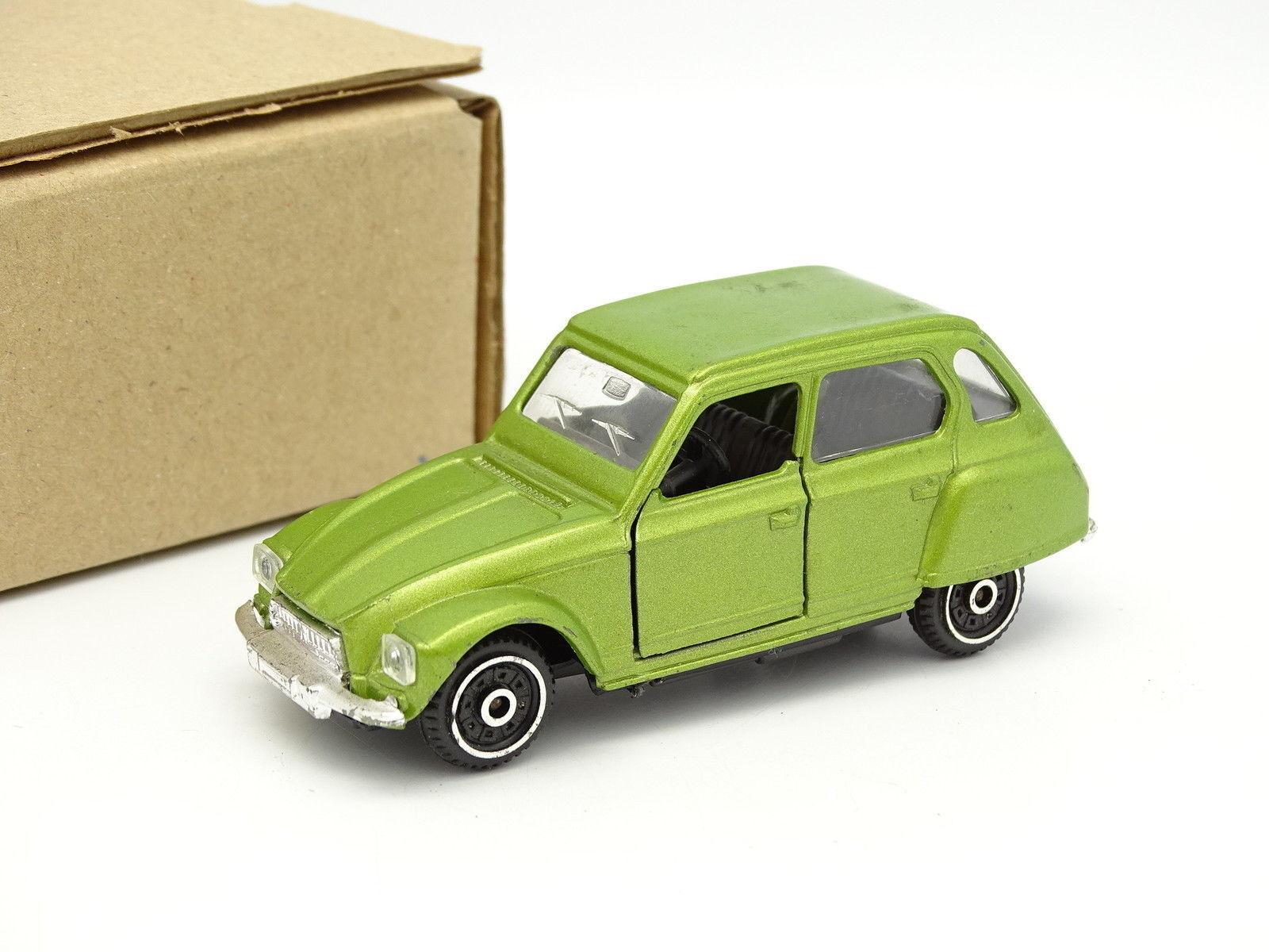 Polistil SB 1 43 - - - Citroen Dyane green b43428
