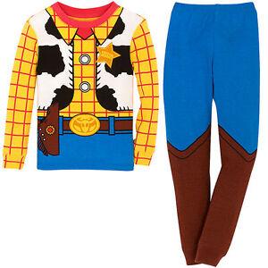 Disney Store Toy Story Woody Boy 2 PC Long Sleeve Costume ...