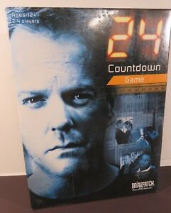 24-Countdown-Mystery-Board-Game-Ages-12-2-4-Players-by-Briarpatch-Sealed-amp-New