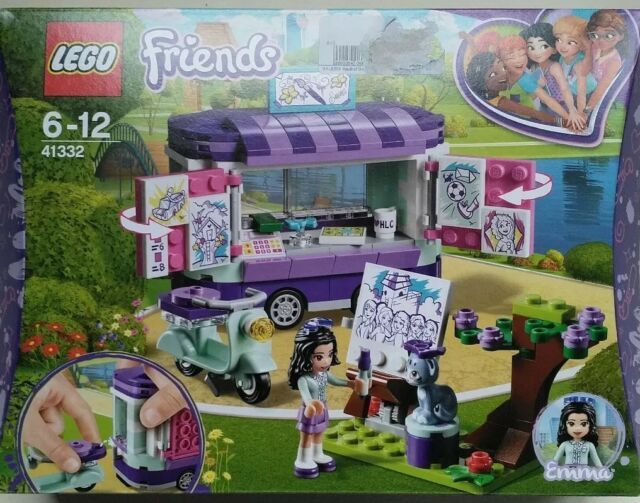LEGO® Friends City Park 4 Sets 41330+41332+41334+41335 NEU /& OVP