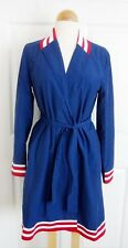 WESC Karlie Ladies Trench Coat ESTATE BLUE Sz S SMALL *NWT* RARE Sweden Brand