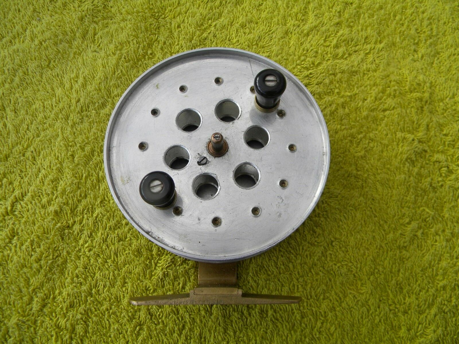 Vintage C R Lee Centre Pin Fishing Reel