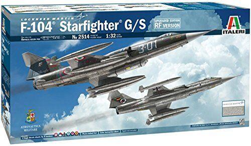 F104 estrellacombatiente GS Upgraded edizione RF Version Plastic Kit 1 32 modello 2514