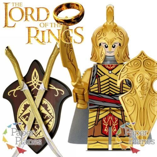 Noldorin Elves w// Sword Custom Minifiguren MOC Lego Toy Lord of the Rings XP248