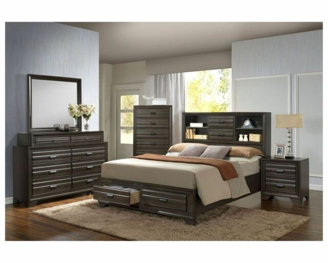 Ashley Furniture B369 Cinrey Modern Queen Or King Platform Bed