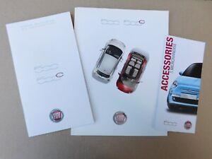 Fiat 500 & 500C Brochures 2011 / 2012