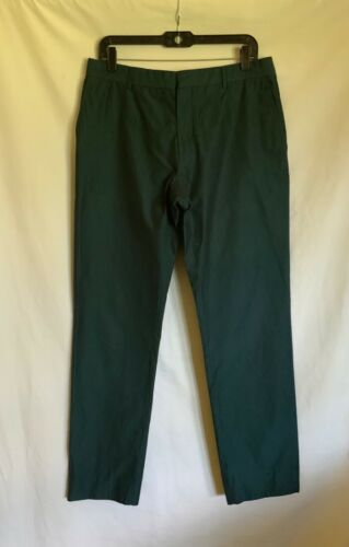 Hermès Straight Green Pants Size 42