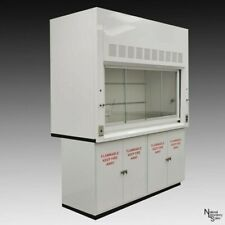 6 Bench Fume Hood With Sash Valves Flammable Storage Outlet Light E1 168