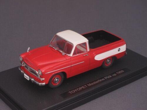 44344 1//43 EBBRO Toyopet Masterline pick up 1959-rojo