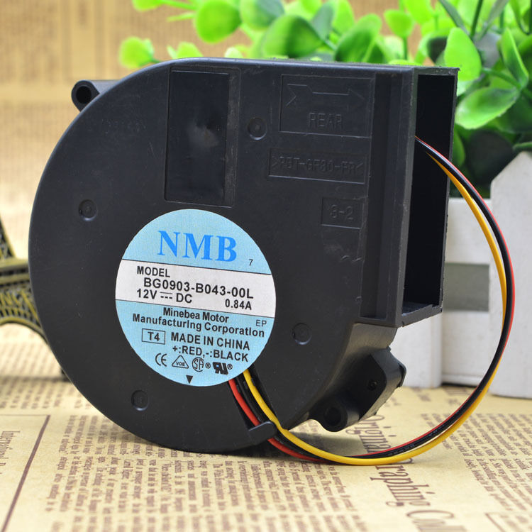 for NMB BG0903-B049-P0S Turbine server fan DC12V 2.65A 97*97*33MM 4PIN