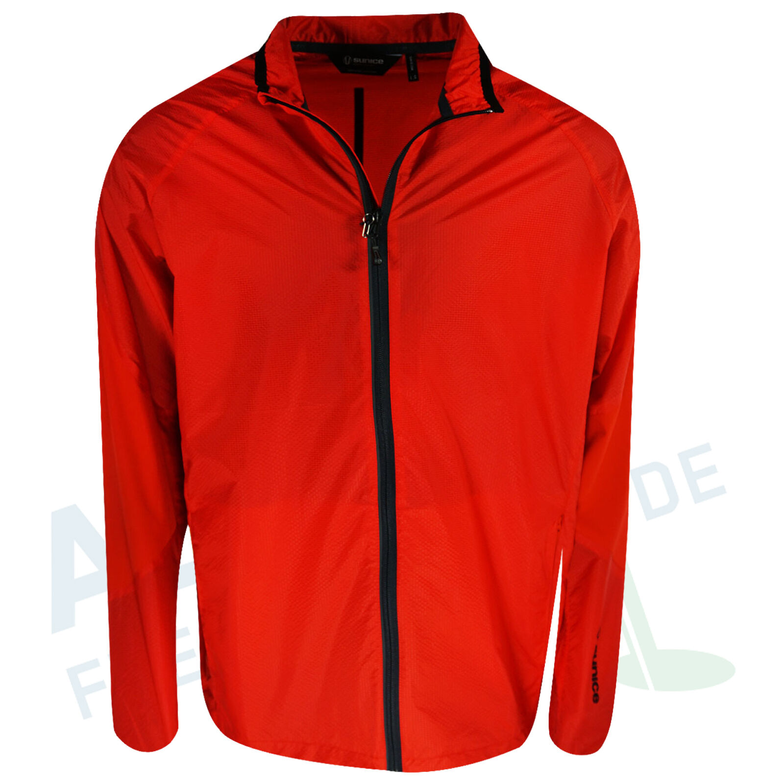 Sunice Windbreaker Salford rot Größe L (Windproof Water Resistant Breathable)