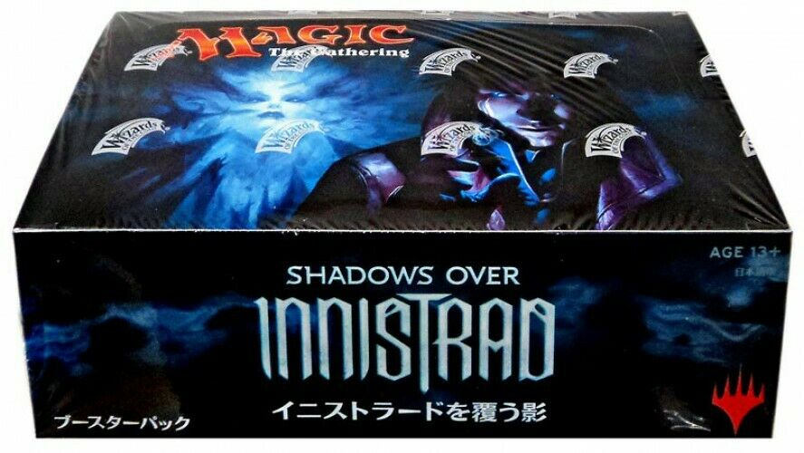 Magic the Gathering Mtg Shadows over Innistrad Booster Box [Japanisch]