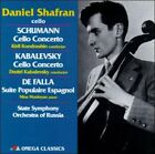 Daniel Shafran, cello (CD, Aug-1998, Omega Music Poland)