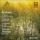 Brahms: String Quintet in G; Clarinet Quintet (CD, Feb-1990, Delos)