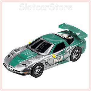 Carrera-GO-61309-Marvel-Chevrolet-Corvette-C5-R-034-Doctor-Doom-034-1-43-Slotcar-Auto