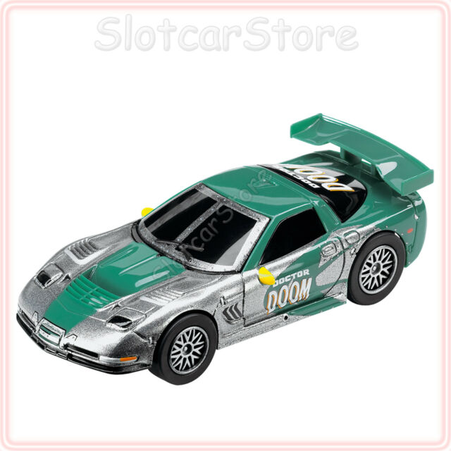 "Carrera GO 61309 Marvel Chevrolet Corvette C5-R ""Doctor Doom"" 1:43 Slotcar Auto"