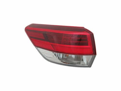 Driver Side Tail Light Assembly D157FC for Toyota Highlander 2017 2018 Left