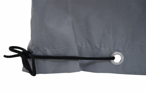 120x120x75cm grigio Copertura telo di copertura piano di protezione per gruppi di seduta