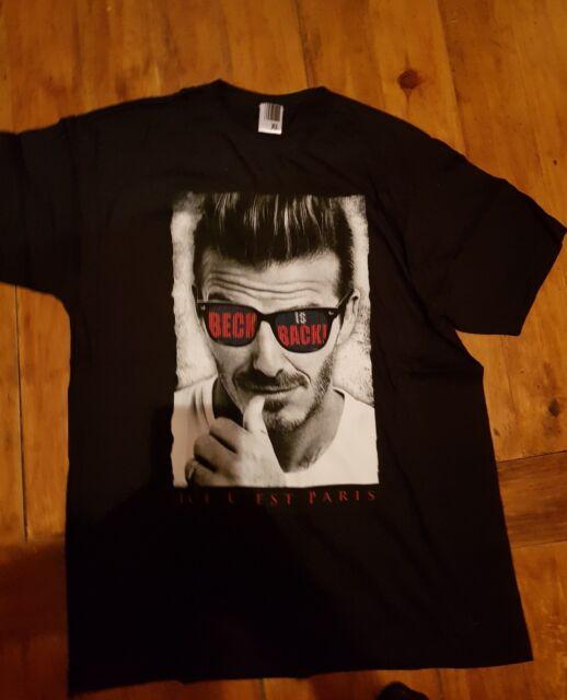 Maillot jersey maglia  trikot tee shirt PSG neymar mbappe cavani Beckham
