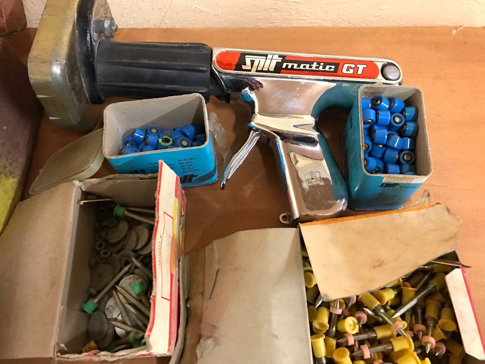 SPIT MATIC GT Bolzenschussgerät mit Munition Nagel und Koffer