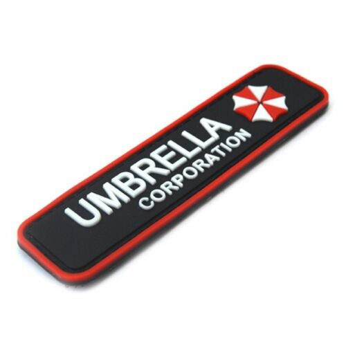 Airsoft Umbrella Corporation Klett Patch B-Ware Paintball Resident Evil Gaming Merch