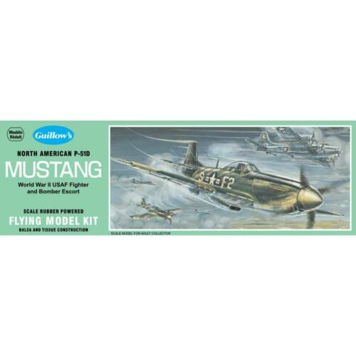 Guillow s Scale Model Mustang 905