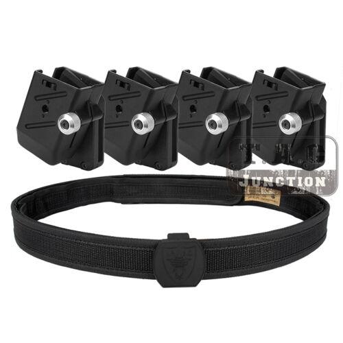 4x CR velocità Shooter/'S Pistola Magazine Pouch IPSC uspsa cintura di tiro ad alta velocità