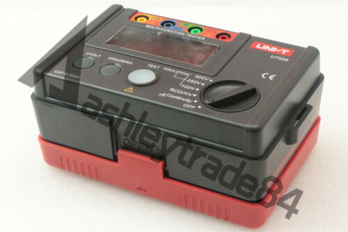 UNI-T UT525 Electrical Insulation Tester+RCD Tester+Continuity+VAC//DC 4 in 1