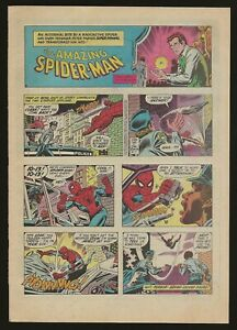 SPIDER-MAN-Newspaper-page-from-The-Gazette-Comic-section-September-6th-1980