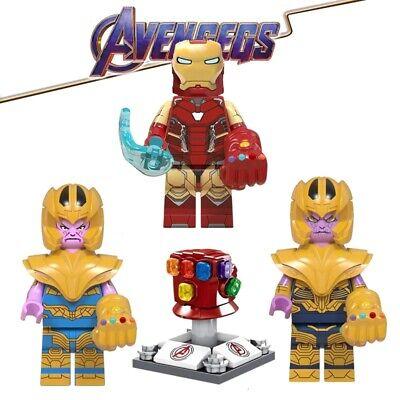 Infinity Gems Thanos Marvel Building Blocks Avengers Infinite Glove Cosmic Toys