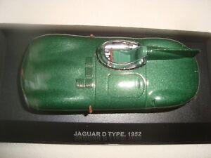 Miniatuurvoertuigen New Juin 2018 Miniature Jaguar Type D 1952 Vert
