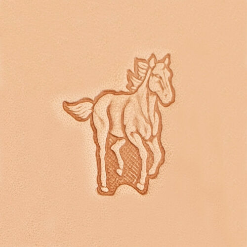 3D Stempel Galoppierendes Pferd Leder Tandy Leather 88311-00