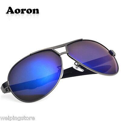 Men's Polarized Glasses Driving Aviator Outdoor Sports Sunglasses Eyewear Blue
