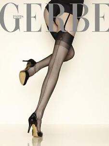 Lot-de-2-paires-de-Bas-FF-100-Nylon-a-Couture-vintage-Carnation-de-Gerbe