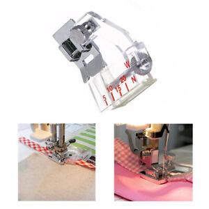 Adjustable Bias Binder Presser Foot Attaching Binding Snap-on For Sewing Machine