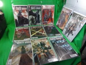 Lot-of-Marvel-Star-Wars-Darth-Vader-Comic-Books-Gillen-Larroca-Delgado-1-to-11