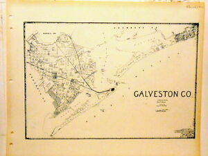 Old Galveston County Texas Land Office Owner Map Port ... on blank map of fredericksburg, blank map of dallas, blank map of atlanta, blank map of texas, blank map of charleston, blank map of cozumel, blank map of jacksonville, blank map of virginia beach, blank map of new orleans,