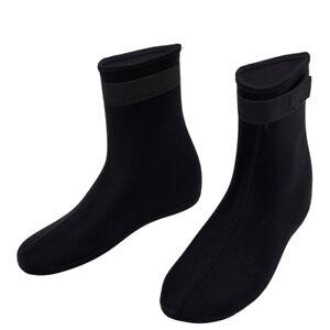 Ein-Paar-3mm-schwimmen-Zubehoerteil-Wasser-Sport-Elastic-Neopren-Tauchen-Socken