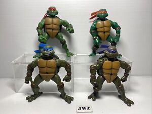 2003-TMNT-TARTARUGHE-Ninja-Playmates-bundle-x-4