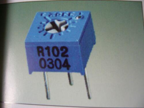 3362P Trim-pot 3362 Trimmer Turns Spiral Potentionmeter 50R1K 2K 5K 10K 20K 500K