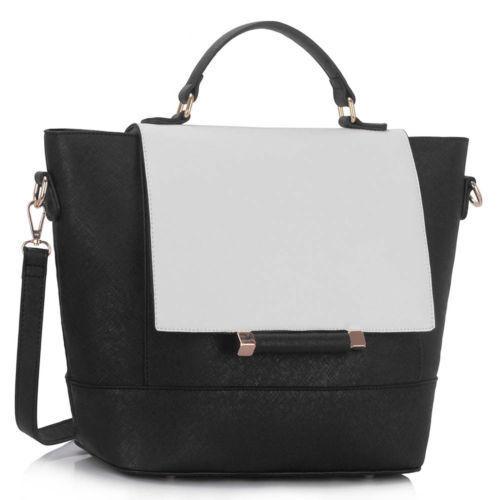Nuevo Diseñador para mujer grande bolsos Señoras de cuero de imitación Hombro Bolso Carteras