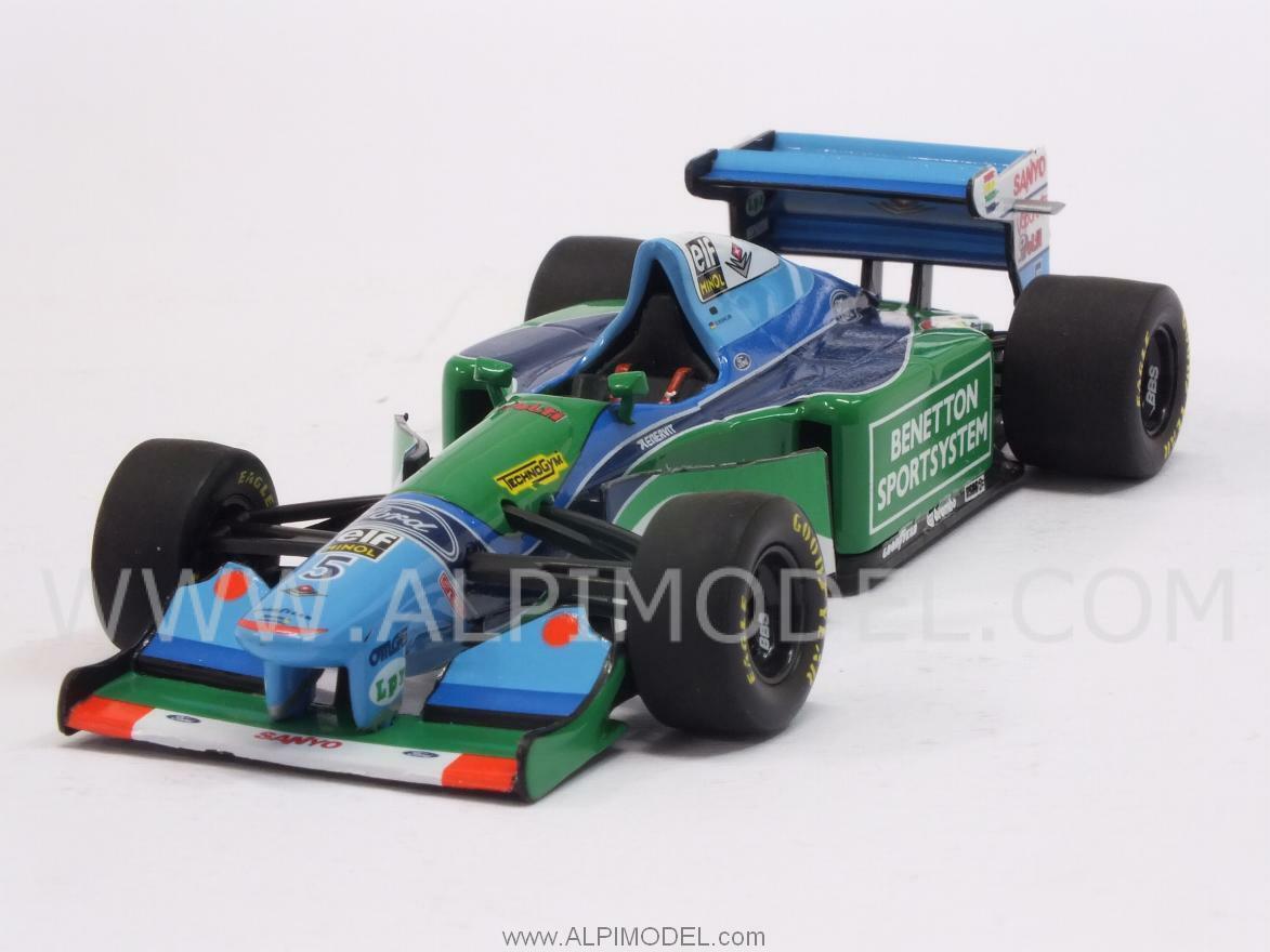 Benetton B194 Ford GP Monaco 1994 World Champion Mich 1 43 MINICHAMPS 400940005