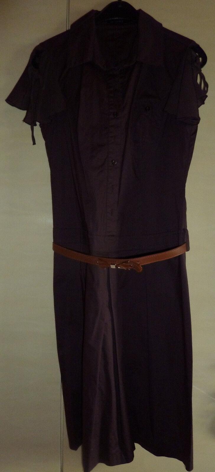 APART - Sommerkleid, Etuikleid, elegant, mit Gürtel, braun, Größe 38 40 -wie NEU